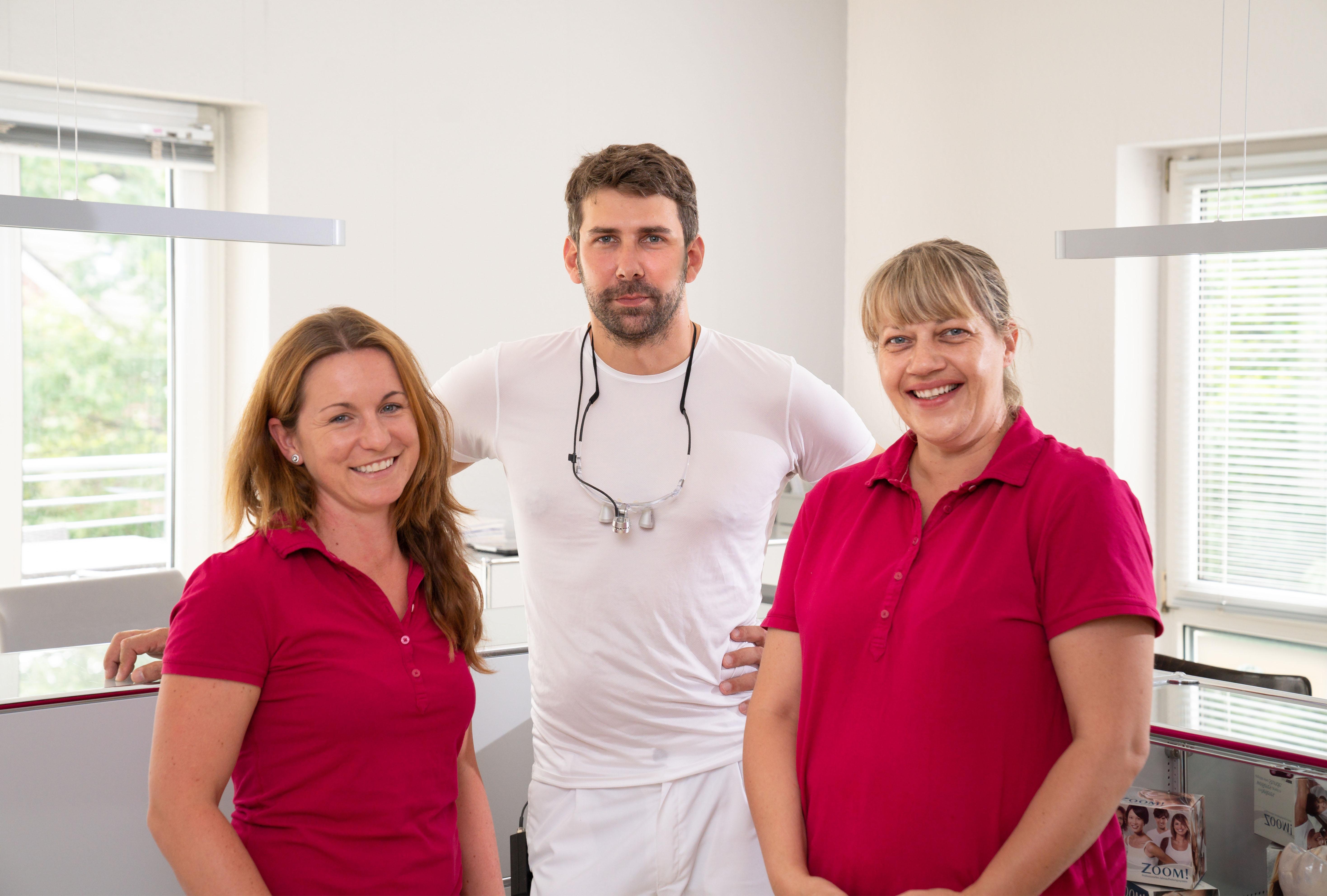 Praxisteam Zahnarztpraxis Frederic Liese